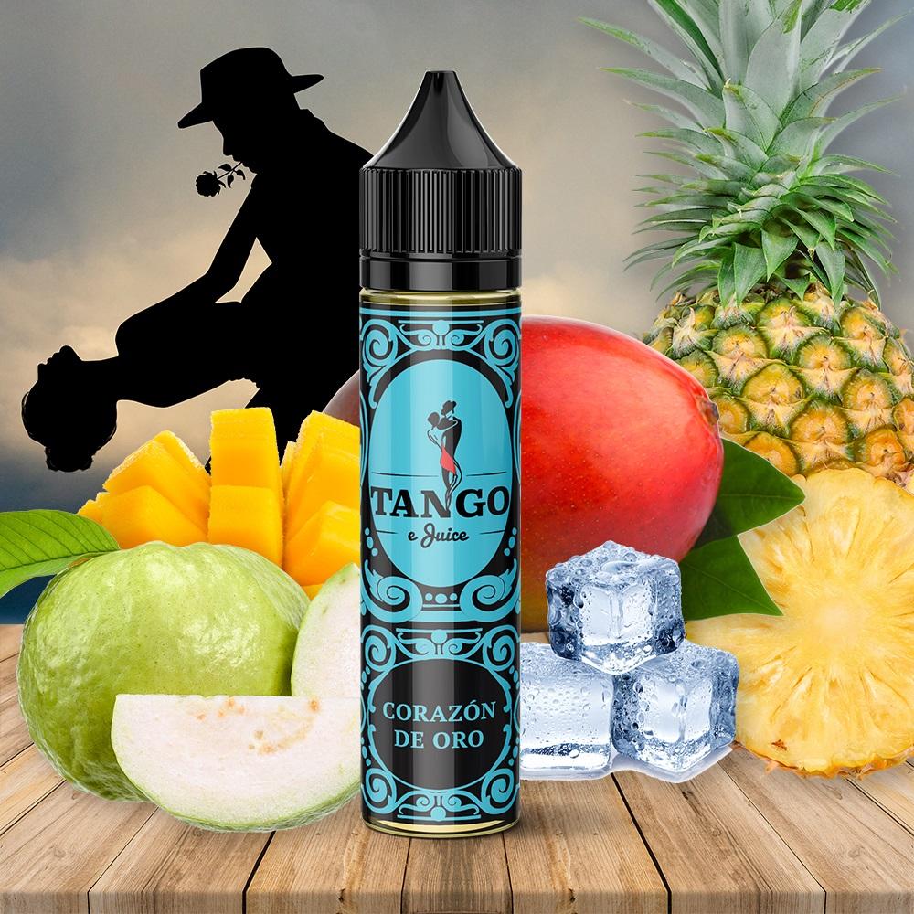 Líquido TANGO ejuice  CORAZÓN DE ORO 50 ml