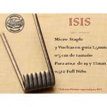 Lady Coils  ISIS (ARTEMISA) - MICRO STAPLE 0.51