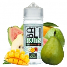 King Crest- BALI FRUITS - PEAR-MANGO-GUAVA  100 ml