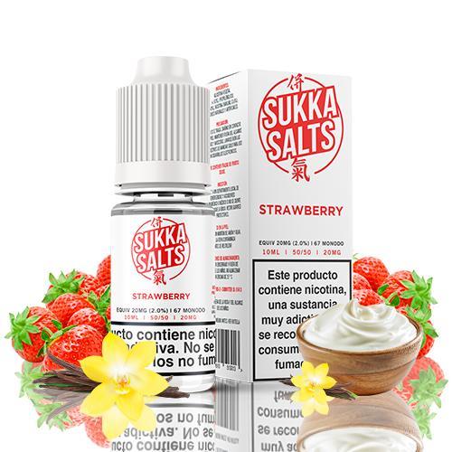 Sukka Salts Strawberry 10ml 10MG