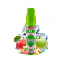 DINNER LADY ICE APPLE SOURS  50ml