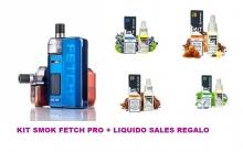 PACK  SMOK FETCH PRO 80W + LIQUIDO SALES HG
