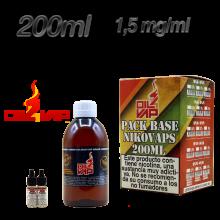 PACK OIL4VAP 200ML 1.5 MG