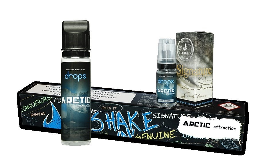 DROPS SHAKE´N & VAPE ARCTIC ATTRACTION  60ML