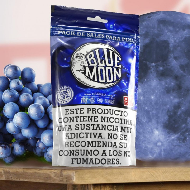 Pack SALES Oil4vap BLUE MOON