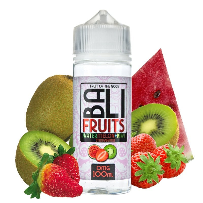 King Crest- BALI FRUITS - WATERMELON-KIWI-STRAWBERRY 100 ml
