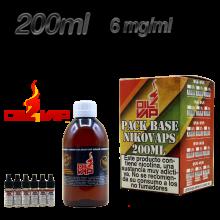 PACK OIL4VAP 200ML 6MG