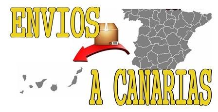 ENVÍO por Correos a Canarias (4-5 días)