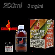 PACK OIL4VAP 200ML 3MG