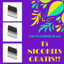 PROMO 15 NICOKITS GRATIS