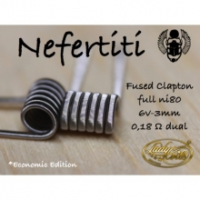LADY COILS NEFERTITI (LOW COST)(FUSED CLAPTON) 0.18/ 0.36